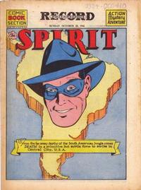 Cover Thumbnail for The Spirit (Register and Tribune Syndicate, 1940 series) #10/28/1945