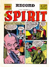 Cover Thumbnail for The Spirit (Register and Tribune Syndicate, 1940 series) #9/30/1945