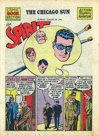 Cover Thumbnail for The Spirit (Register and Tribune Syndicate, 1940 series) #8/19/1945