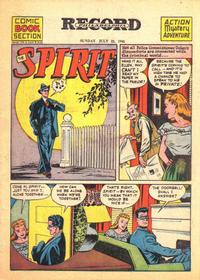 Cover Thumbnail for The Spirit (Register and Tribune Syndicate, 1940 series) #7/22/1945
