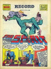 Cover Thumbnail for The Spirit (Register and Tribune Syndicate, 1940 series) #6/6/1943