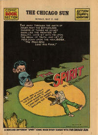 Cover Thumbnail for The Spirit (Register and Tribune Syndicate, 1940 series) #5/17/1942