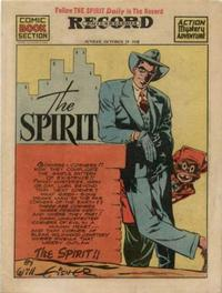Cover Thumbnail for The Spirit (Register and Tribune Syndicate, 1940 series) #10/18/1942