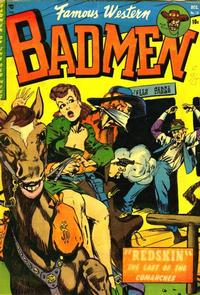 Cover Thumbnail for Famous Western Badmen (Youthful, 1952 series) #13