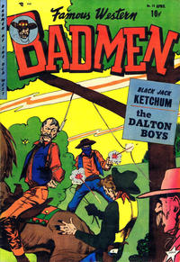 Cover Thumbnail for Famous Western Badmen (Youthful, 1952 series) #15
