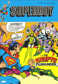 Cover for Superboy (1977 series) #4/1977