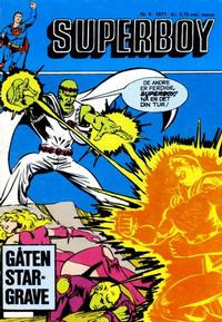 Cover Thumbnail for Superboy (Semic, 1977 series) #9/1977