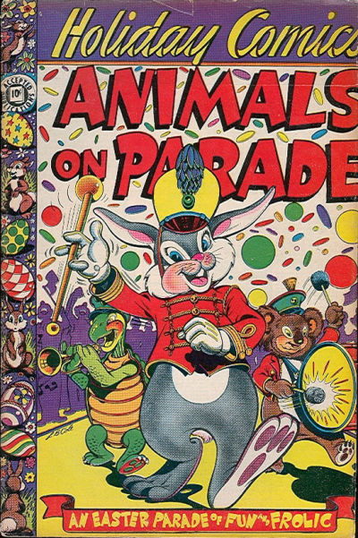 Cover for Holiday Comics (1951 series) #2