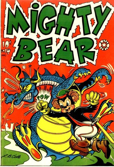 Cover for Mighty Bear (Star Publications, 1954 series) #14
