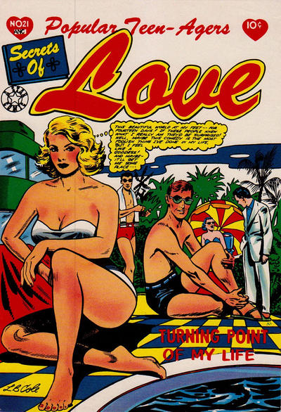 Cover for Popular Teen-Agers (1950 series) #21