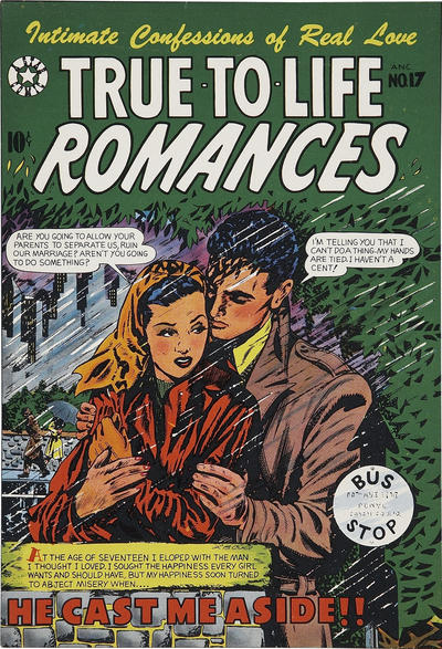 Cover for True-to-Life Romances (1950 series) #17