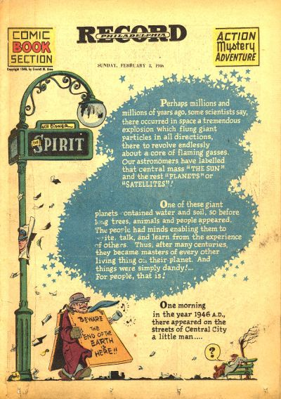 Cover for The Spirit (Register and Tribune Syndicate, 1940 series) #2/3/1946