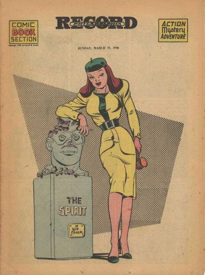 Cover for The Spirit (Register and Tribune Syndicate, 1940 series) #3/17/1946