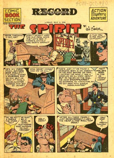 Cover for The Spirit (1940 series) #5/5/1946