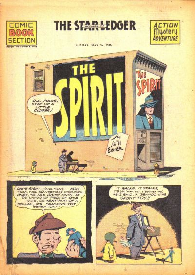 Cover for The Spirit (Register and Tribune Syndicate, 1940 series) #5/26/1946