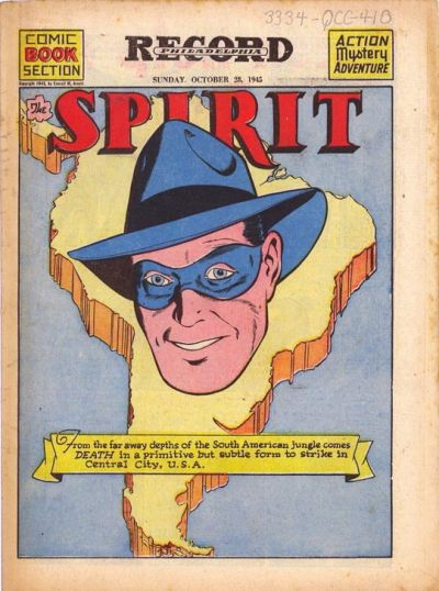 Cover for The Spirit (Register and Tribune Syndicate, 1940 series) #10/28/1945