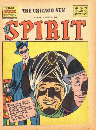 Cover for The Spirit (1940 series) #8/12/1945