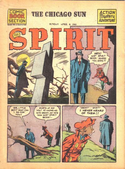 Cover for The Spirit (1940 series) #4/8/1945