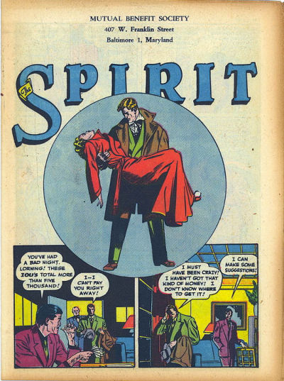 Cover for The Spirit (1940 series) #1/21/1945