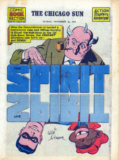 Cover for The Spirit (Register and Tribune Syndicate, 1940 series) #11/26/1944