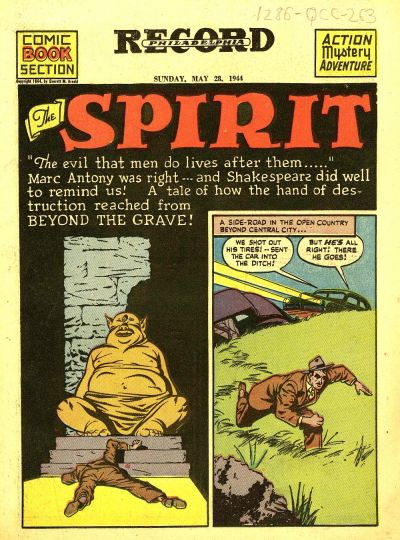 Cover for The Spirit (Register and Tribune Syndicate, 1940 series) #5/28/1944