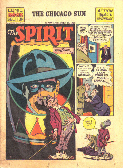 Cover for The Spirit (Register and Tribune Syndicate, 1940 series) #10/17/1943