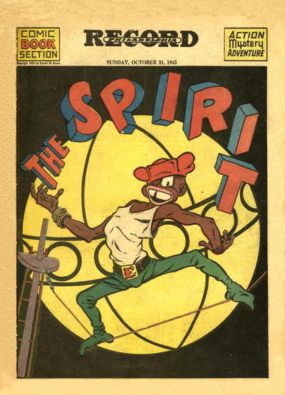 Cover for The Spirit (Register and Tribune Syndicate, 1940 series) #10/31/1943