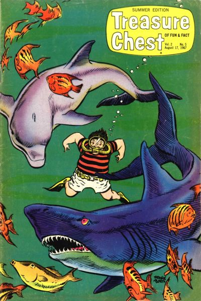 Cover for Treasure Chest Summer Edition (George A. Pflaum, 1966 series) #v2#5