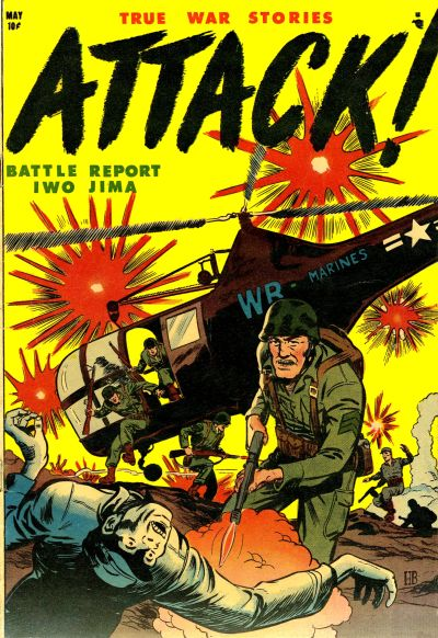 Cover for Attack (1952 series) #1