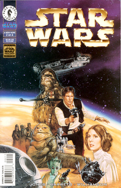 Cover for Star Wars: A New Hope - The Special Edition (Dark Horse, 1997 series) #2