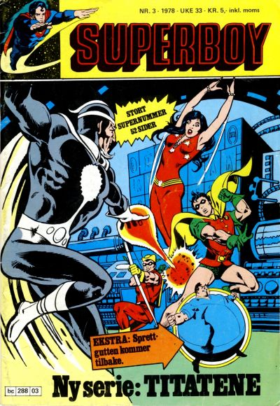 Cover for Superboy (1977 series) #3/1978