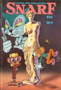 Cover Thumbnail for Snarf (Kitchen Sink Press, 1972 series) #9