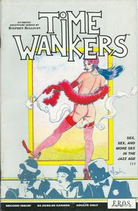 Cover Thumbnail for Time Wankers (Fantagraphics, 1990 series) #2