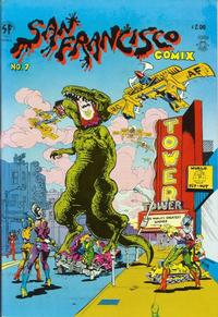Cover for San Francisco Comic Book (1981 series) #7