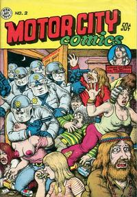 Cover Thumbnail for Motor City Comics (Rip Off Press, 1969 series) #2