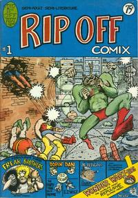 Cover Thumbnail for Rip Off Comix (Rip Off Press, 1977 series) #1