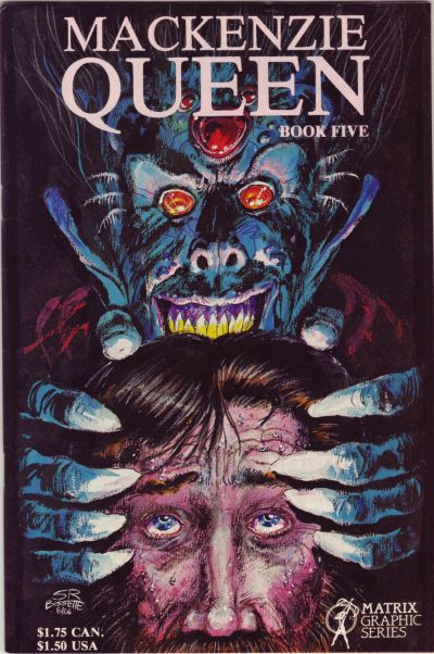 Cover for MacKenzie Queen (Matrix Graphic Series, 1985 series) #5