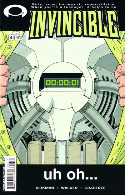 Cover for Invincible (2003 series) #4