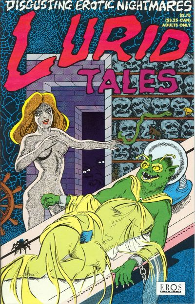 Cover for Lurid Tales (1992 series) #1