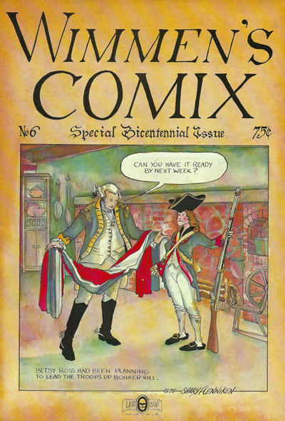 Cover for Wimmen's Comix (Last Gasp, 1972 series) #6