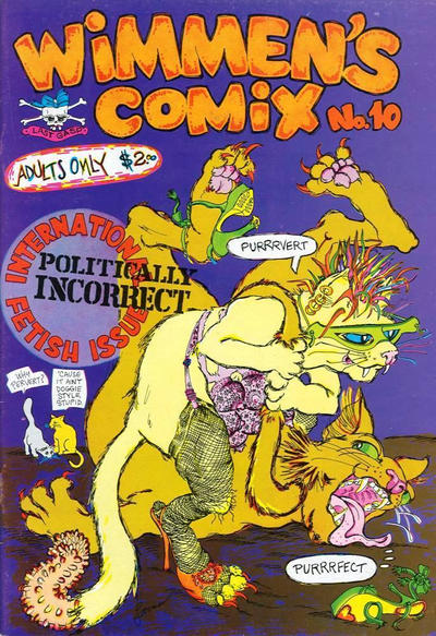 Cover for Wimmen's Comix (Last Gasp, 1972 series) #10