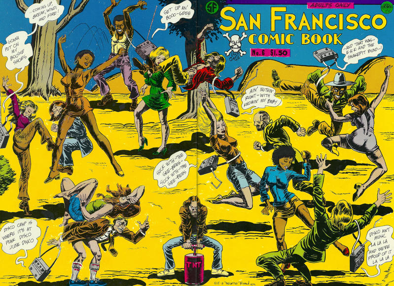 Cover for San Francisco Comic Book (1981 series) #6
