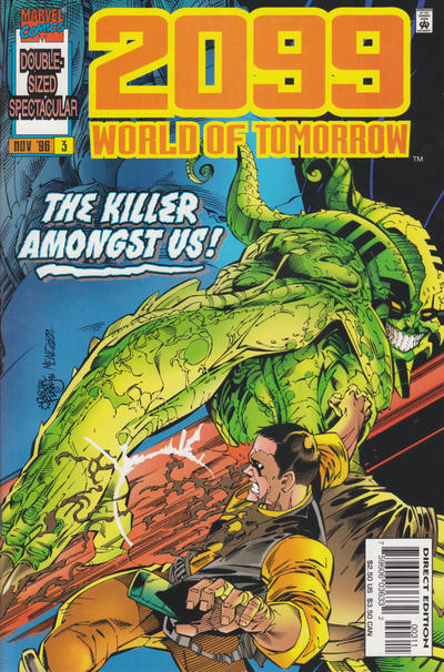 Cover for 2099: World of Tomorrow (Marvel, 1996 series) #3