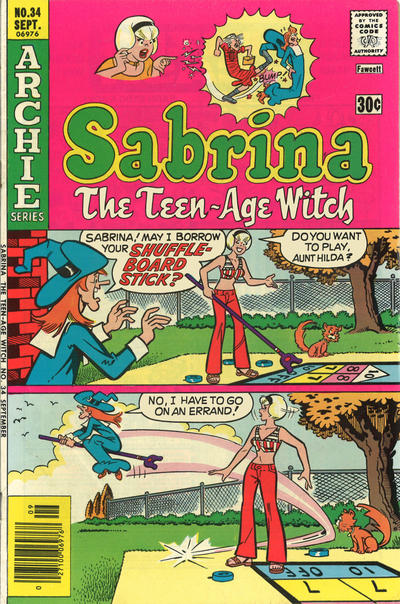Cover for Sabrina, the Teen-Age Witch (1971 series) #34
