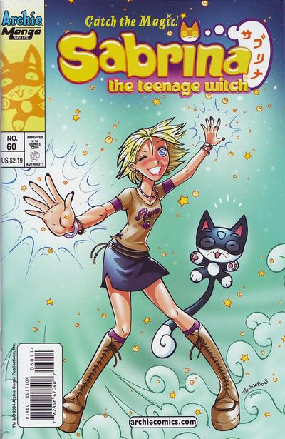 Cover for Sabrina the Teenage Witch (Archie, 2003 series) #60