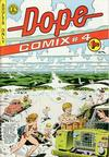 Cover for Dope Comix (Kitchen Sink Press, 1978 series) #4