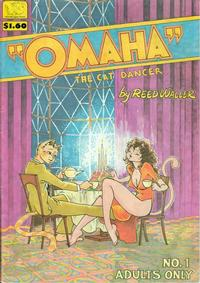 Cover Thumbnail for Omaha the Cat Dancer (SteelDragon Press, 1984 series) #1