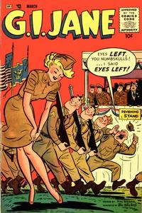 Cover Thumbnail for G.I. Jane (Merit, 1955 series) #11