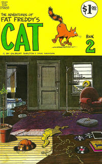 Cover Thumbnail for Fat Freddy's Cat (Rip Off Press, 1977 series) #2 [5th print 1.00 USD]
