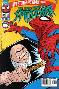 Cover for The Adventures of Spider-Man (Marvel, 1996 series) #8